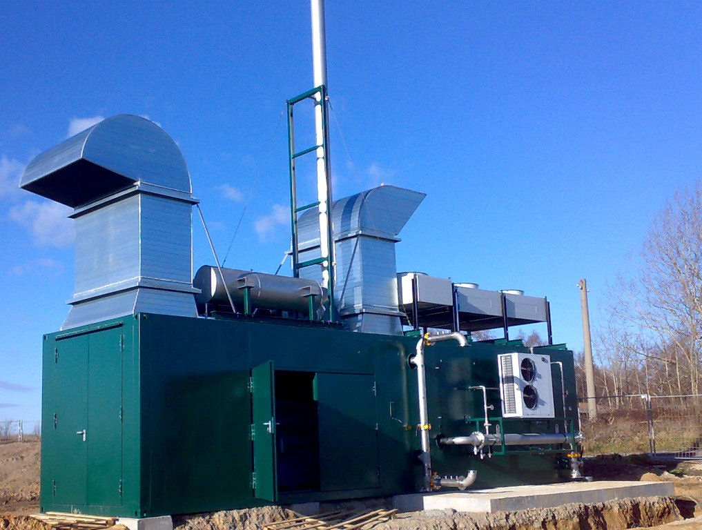 High Efficiency Biogas Cogeneration Plant for the University of