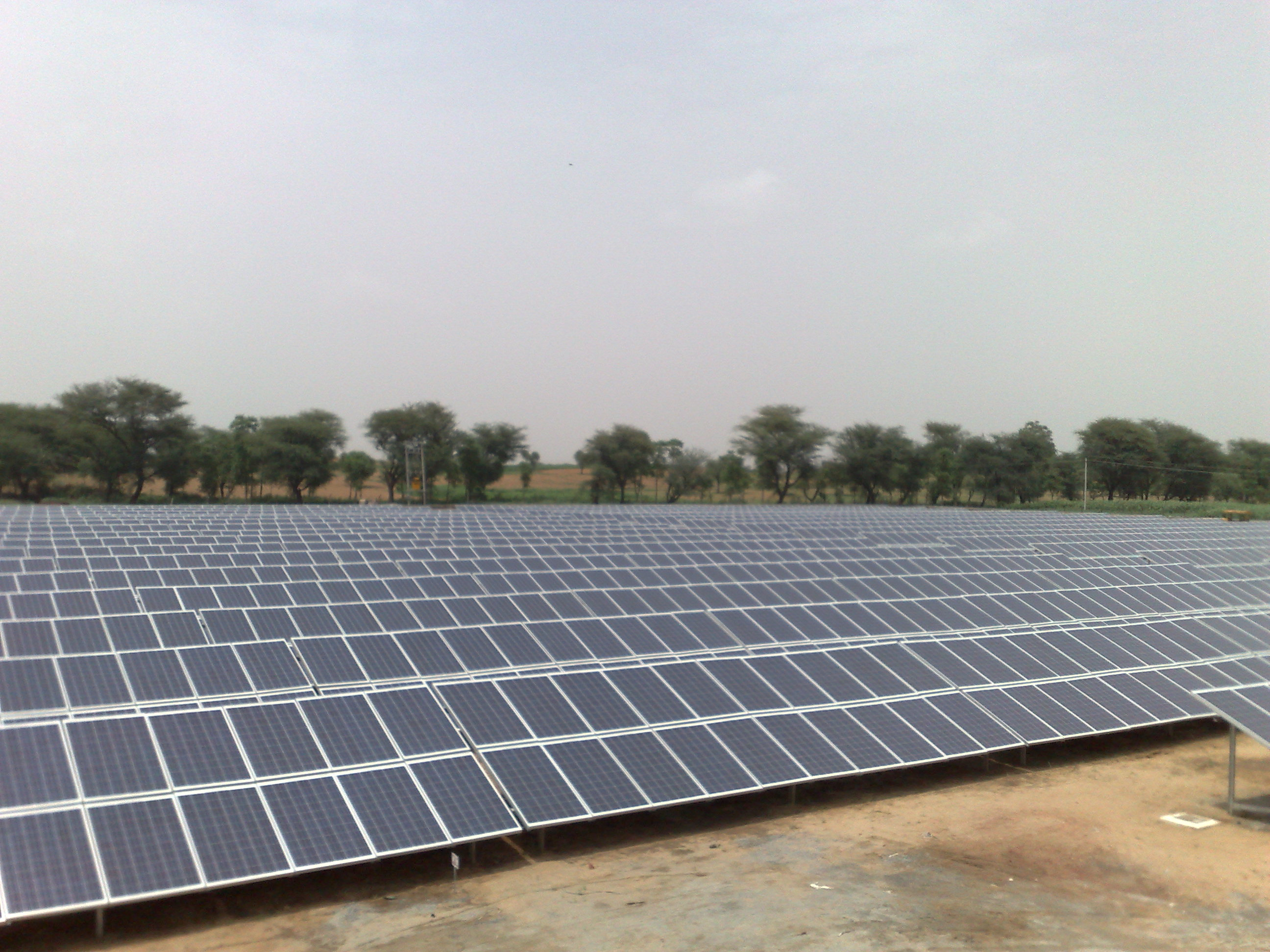 Haryana gets its 1st ever 1 MWp Solar PV Plant