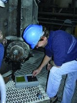 4.What to measure. Initial measurements were used to determine the most effective types of machine condition transmitters for this application. Courtesy: SKF USA Inc.