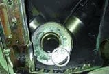 6.Jelly roll. The pulverizer bearing information was detected too late to prevent a failure. Courtesy: SKF USA Inc.