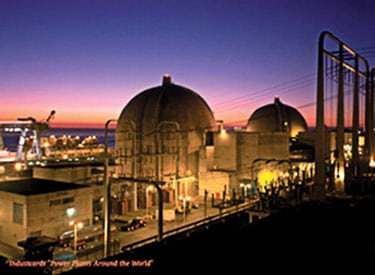 1. Beautiful music. The San Onofre Nuclear Generating Station (SONGS) abuts the Pacific Ocean in northern San Diego County. Courtesy: Southern California Edison