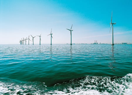 6. Doubled demand. Siemens supplied the turbines for two offshore wind projects already in place, and soon will do likewise for two recently announced UK projects with a total capacity of 180 MW. Courtesy: Siemens Power Generation