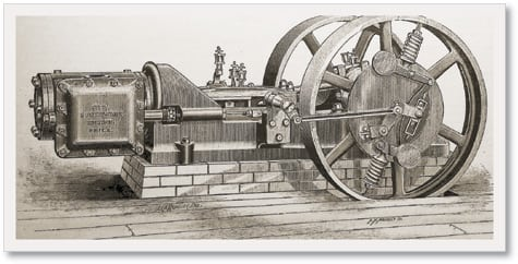 1.The Southwark engine was the latest reciprocating engine offered for sale in the U.S.