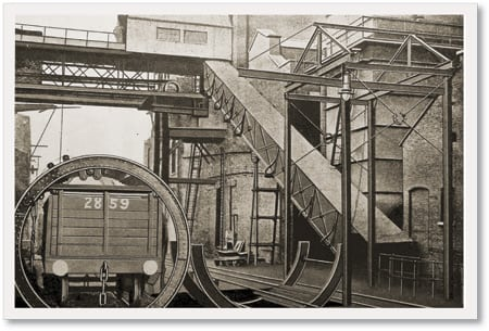 2.Handling coal and preventing it from catching fire are two jobs that are as tough today as they were a century ago.