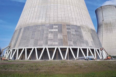9. Beautiful ending. Years of experience working on tight schedules during plant outages made the St. John's River project a success. It was the largest cathodic protection system that SPS has ever installed. Courtesy: Structural Preservation Systems