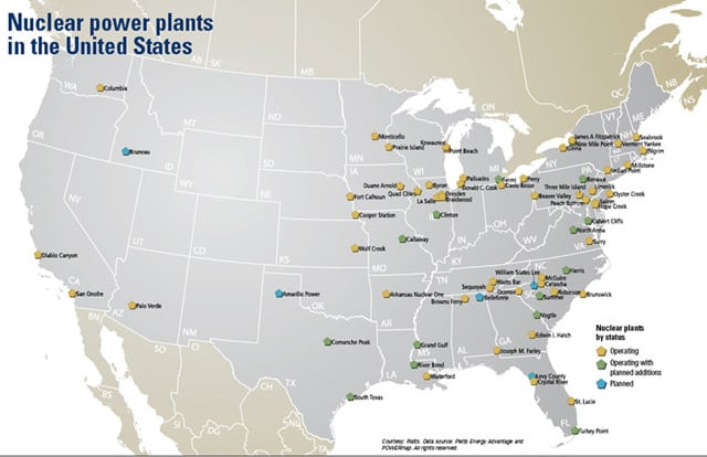nuclear power in the united states On february 16, 2010, us president barack obama announced more than $8 billion of federal loan guarantees to begin building the first us nuclear power.