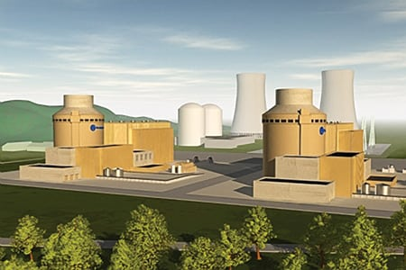1.	Back from the dead. Tennessee Valley Authority, with support from the NuStart Consortium, has asked the NRC for permission to build two Westinghouse AP1000 next-generation pressurized water reactors on the site of the utility's unfinished Bellefonte Nuclear Plant in Alabama. Source: TVA