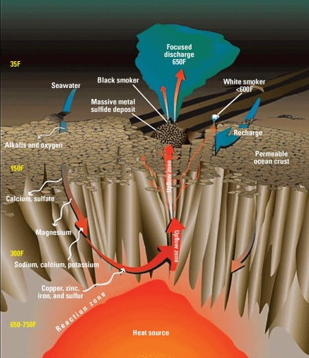 an analysis of hydrothermal vent Mantle helium reveals southern ocean hydrothermal venting more than 220 active vent sites have been 56 stored in copper tubes for laboratory analysis.