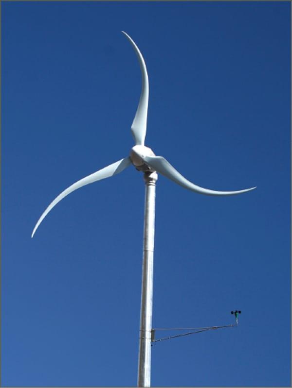 Smart Grid Ready Small Wind Turbine