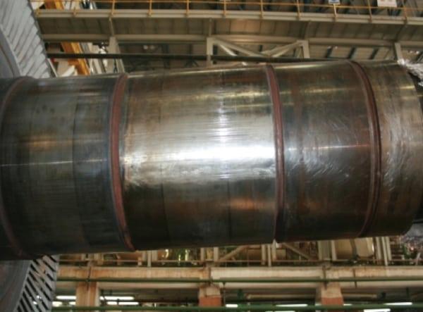 steam turbine rotor vibration