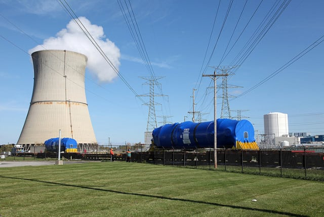 "<strong>Ohio.</strong> FirstEnergy Corp., a company that is looking to exit the competitive generation business by mid-2018 and close its uneconomic nuclear plants in Ohio, <a href=""https://www.powermag.com/firstenergy-looks-to-exit-competitive-business-shutter-or-sell-ohio-nuclear-plants/""><u>in February announced that it will back state legislation that would establish a ""zero-emission nuclear program""</u></a> (ZEN). <br> <br> The company's top priority, said FirstEnergy President and CEO Chuck Jones in a February earnings call, ""is the preservation of our two nuclear plants in the state, and legislation for the zero-emission nuclear program is expected to be introduced soon."" FirstEnergy will pursue environmental credits and push for the continued operation of the 908-MW Davis-Besse nuclear plant in Oak Harbor, Ohio, and the 1.3-GW Perry nuclear plant in Perry, Ohio, through the ZEN program, he said. <br> <br> <em>Davis Besse nuclear station. Source: FirstEnergy Corp.</em>"