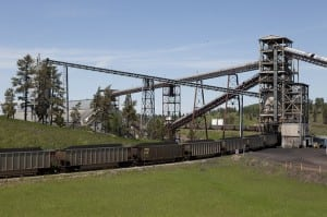 Absaloka mine near Hardin, Mont.