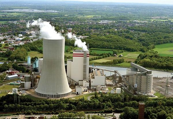 Steinkohlekraftwerk Lünen / Lünen hard-coal-fired power plant