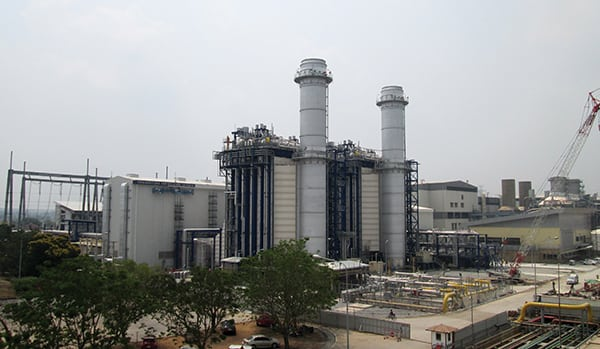 GuD-Kraftwerk Wang Noi 4 in Thailand / Wang Noi 4 Combined Cycle Power Plant, Thailand