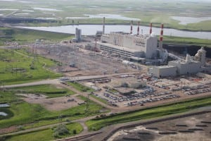 in October 2014, SaskPower's Boundary Dam Unit 3 in Estevan, Saskatchewan, became the first coal-fired power plant to employ full-scale post-combustion carbon capture and sequestration. Courtesy: SaskPower