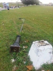 light pole in cuba