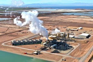 mining lithium in geothermal brine