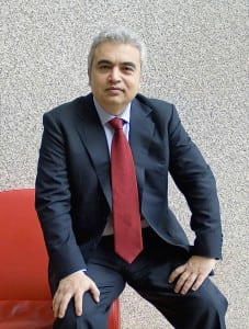 Dr. Fatih Birol, chief economist, director of global energy economics and executive director (starting September 2015), International Energy Agency. Courtesy: IEA