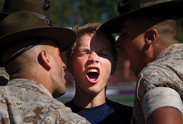 Marine drill instructors, recruiters prepare Seattle-area enlistees for boot camp