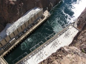 1.              Hoover hydro has been a constant. An NV Energy predecessor company was one of the first buyers for Hoover Dam hydropower. The facility continues to supply 235 MW to the utility's system. Courtesy: Gail Reitenbach