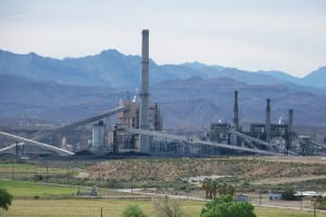 2.Changing calculus. Once seen as a way to hedge fuel costs, the last unit at the coal-fired Reid Gardner Generating Station is slated for closure in 2017. Courtesy: NV Energy