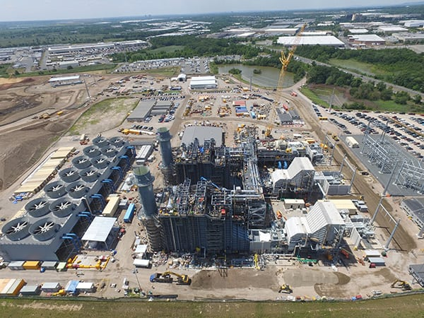 building a new gas-fired plant