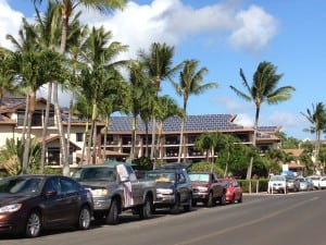1.Solar is hot in Hawaii. In 2014, 21% of the power used by customers of Hawaiian electric companies came from renewable energy resources, including wind, solid waste, geothermal, hydro, solar, and biofuel energy. The state wants to produce 100% of its power from renewables by 2045. Courtesy: POWER/Gail Reitenbach