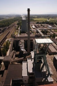 Many mines were built with the assumption they would generate up to 10,000 jobs each. Mines often have their own power plants too, like the Dul CSM in eastern Czech Republic. Courtesy: LMB Photography 2006