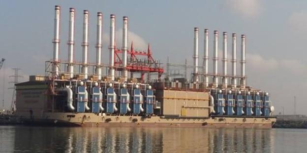 Karpower electricity generation barge Ghana