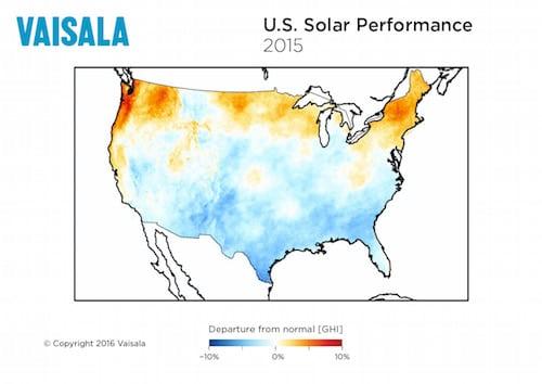 Solar PV Capacity Factors