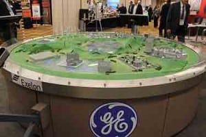GE and Exelon displayed the concept of a digital power system at the 2016 EEI annual convention. Source: POWER
