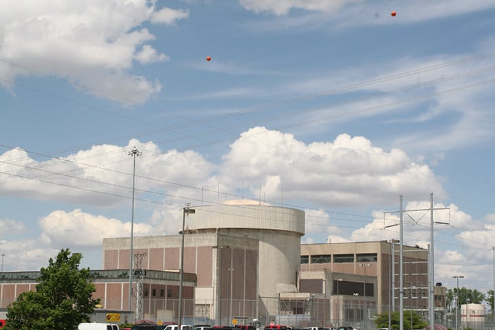 The 476-MW Fort Calhoun unit, located in Washington County, Neb., was the smallest operating nuclear plant in the U.S. when the Omaha Public Power District (OPPD) announced on June 16, 2016, that it would shutter the plant by Dec. 31, 2016, for economic reasons. The reactor began commercial operation Aug. 9, 1973. Courtesy: OPPD
