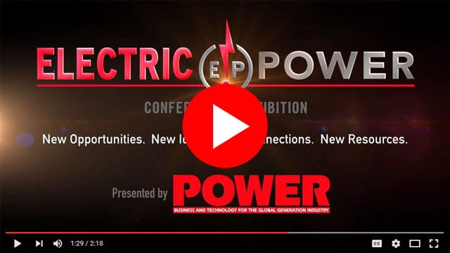 2015 ELECTRIC POWER Conference + Exhibition