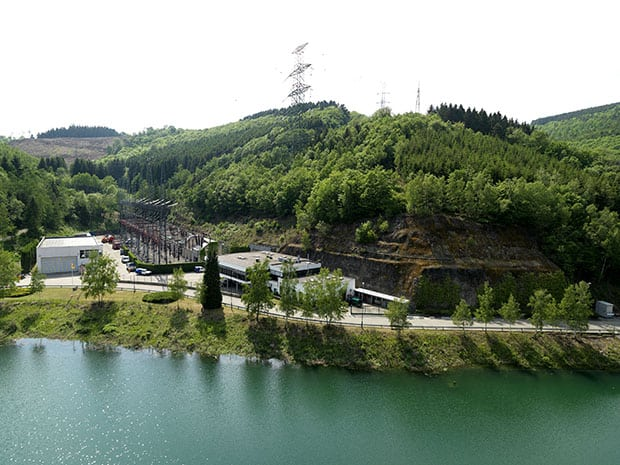 The pumped storage power plant Coo in Belgium. Courtesy: ENGIE Electrabel