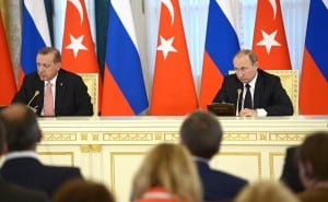 News conference following talks between Turkey's President Recep Tayyip Erdogan and Russia's President Vladimir Putin on August 9, 2016. Courtesy: kremlin.ru