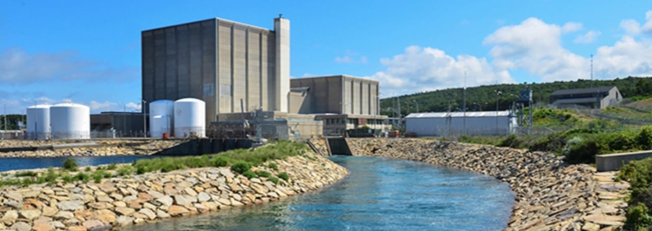 <strong>3.     ISO New England. </strong> <br> <br>Entergy Nuclear closed the 620-MW Vermont Yankee nuclear plant in December 2014, owing to increased costs and market conditions, even though the unit had received a license renewal to operate until 2032. In October, Entergy said it will also retire its 680-MW Pilgrim nuclear plant in Massachusetts by 2019, citing low wholesale power prices and low gas prices.  <br> <br> Pictured: Entergy's Pilgrim nuclear plant. <em>Courtesy: Entergy</em>