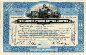 1945 stock certificate