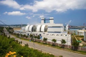 The Ulsan 4 combined cycle power plant in South Korea was a POWER Top Plant in the gas-fired category in 2014. The September 12, 2016, magnitude 5.8 earthquake reportedly resulted in its automatic shutdown. Courtesy: Korea East-West Power Co. Ltd.