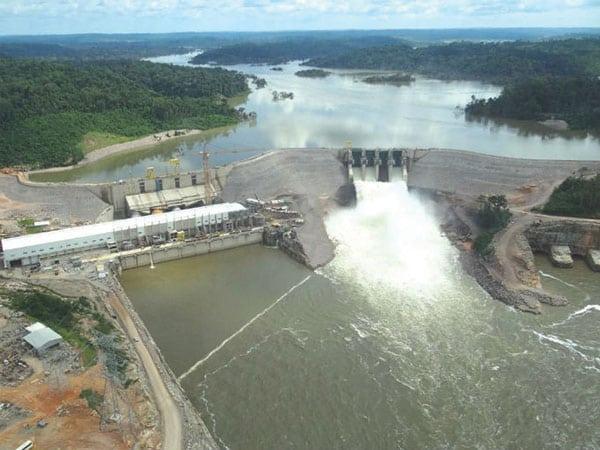 Amazon hydropower