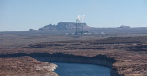 The 2,250-MW Navajo Generating Station near Page, Arizona. Courtesy: Gail Reitenbach