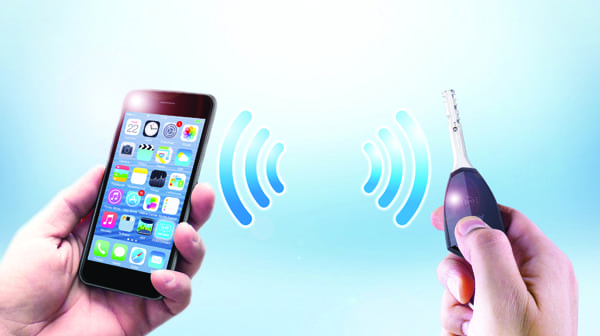 5.Smartkey. CLIQ Connect utilizes wireless Bluetooth technology to update access parameters using smartphones. Courtesy: Abloy UK.