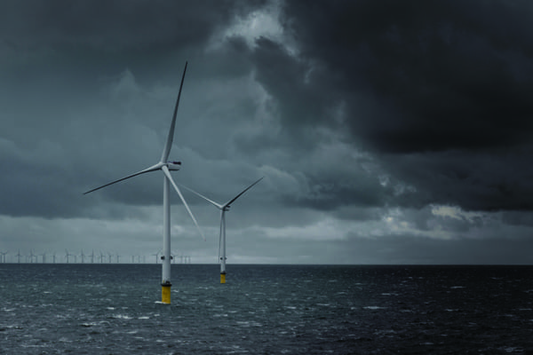 5.The sea of giants. Installation of MHI Vestas' 32 V164-8.0-MW turbines at the 258-MW Burbo Bank Extension off the coast of Liverpool in the UK wrapped up in December 2016—three months after the first 8-MW offshore turbine was erected. The project is scheduled for completion early this year. Courtesy: MHI Vestas