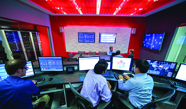The Honeywell Industrial Cyber Security Lab located in Duluth, Georgia is a world-class environment used to develop and test new cyber security solutions for the industrial market. It also serves as a means to share technological advancements and solutions with interested users.