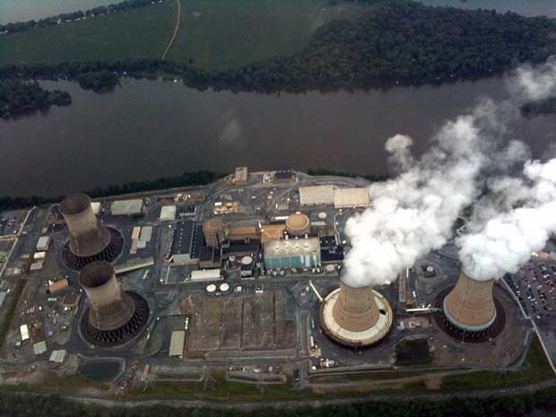 Three Mile Island Unit 1, owned by Exelon Corp., is an 837-MW pressurized water reactor designed by Babcock and Wilcox. The plant is located in central Pennsylvania, about 10 miles south of Harrisburg in Londonderry Township.