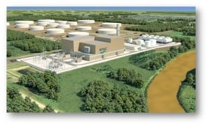 The Nemadji Trail Energy Center, along the Nemadji River in Superior, Wis., will be co-developed by Dairyland Power Cooperative and Minnesota Power.