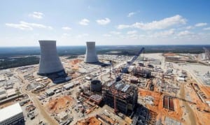 Construction of Units 3 and 4 at the Vogtle nuclear plant near Waynesboro, Georgia, has been plagued by problems and cost overruns. Georgia Power/Handout via REUTERS