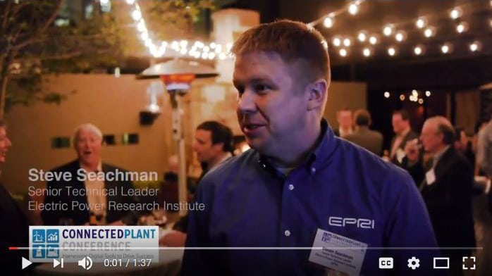 Connected Plant Conference - Interview with EPRI
