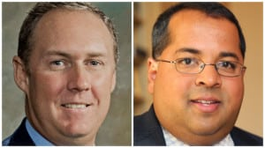 Robert Powelson (left) and Neil Chatterjee have been confirmed as the two newest FERC commissioners. Courtesy: FERC