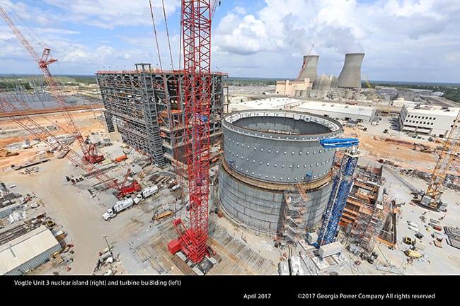 Vogtle_April2017_ConstructionSite_GeorgiaPower