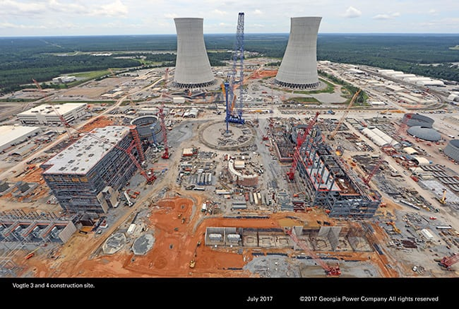 Vogtle_July2017_ConstructionSite_GeorgiaPower